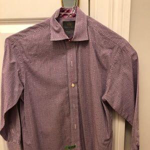 Thomas Dean TD Big Boys Button Down Shirt